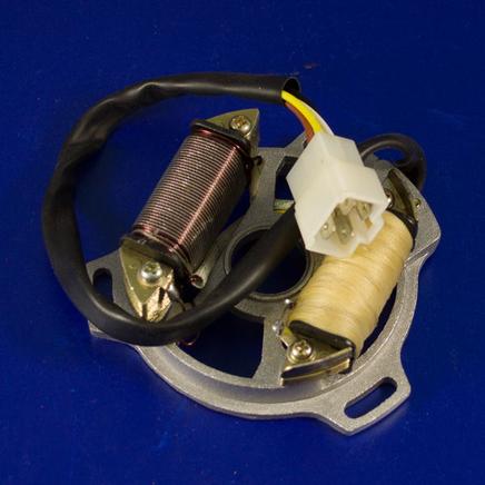 Зажигание скутер 2-х т. (статор генератора без ротора)