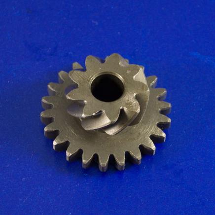 Шестерня кикстартера скутер 2-х т. (двойная, 9 и 22 зуба)