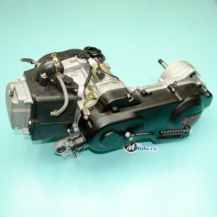 Двигатель скутер 4T 139QMB 82 куб. на колесо 12 дюймов (ЦПГ 50 мм.)