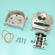Головка скутер 4Т 82 куб. (50 мм. корпус, клапана УВЕЛИЧЕННЫЕ, распредвал, коромысла, крышка) 139QMB