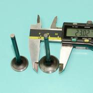 Клапана скутер 4Т 139 QMB (2 шт. УВЕЛИЧЕННЫЕ D20/23 x h61/62 мм.)