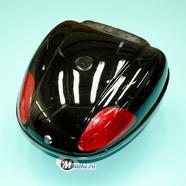 Кофр багажный для мопеда, скутера ZH-N01 (черный, 26 л. 450 x 420 x 320)