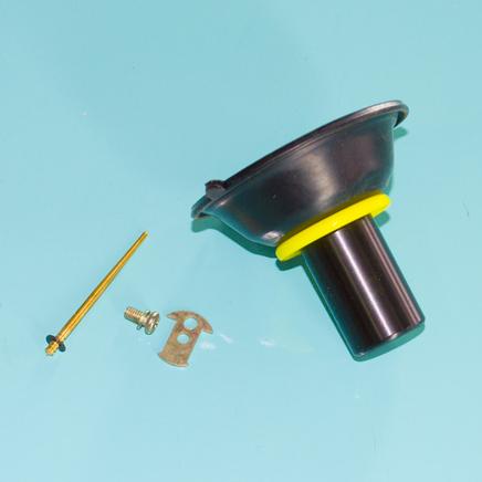 Мембрана карбюратора скутер 4Т 72 куб. (D17.9 мм., 4 детали без пружины) 139QMB