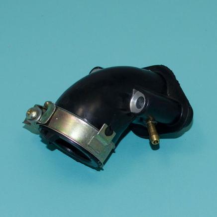 Патрубок карбюратора скутер 4T 50-80 куб. (коллектор впускной d17 мм.) 139QMB