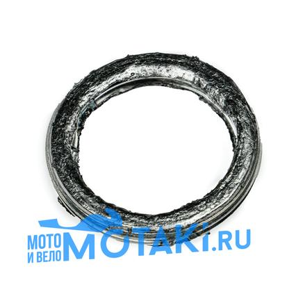 Прокладка глушителя скутер 4Т, Сузуки AD, Хонда DIO, Динго T150 (D30 мм. асбест)