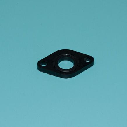 Проставка карбюратора скутер 4Т 50-80 куб. (d17 мм. термоизоляционная с кольцом) 139QMB