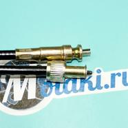 Трос спидометра скутер 4T FT50QT-10 (гайка-выемка, квадрат-вилка, 975 мм.)