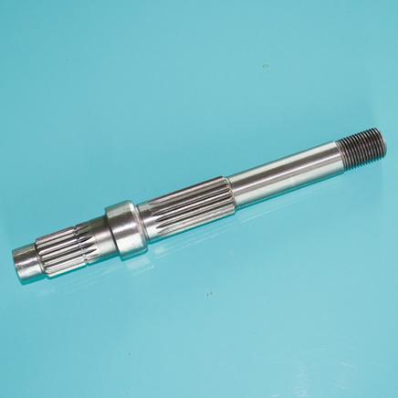 Вал редуктора вторичный скутер 4Т 50-80 куб. (ось задняя 195 мм. на 2 амортизатора)