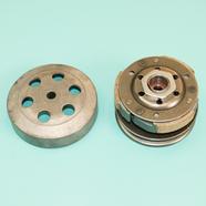 Вариатор скутер 4-х т. 50-80 куб., Хонда (задний, в сборе, шкив D105 мм.)