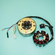 Генератор скутер 125-150 куб.см. (11 катушек, 152QMI, 157QMJ) Ж-Б-Р-КрЧ-З-СиБ