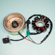 Генератор скутер 125-150 куб. (8 катушек,152QMI-157QMJ) Ж-Б-З-КрЧ-СиБ