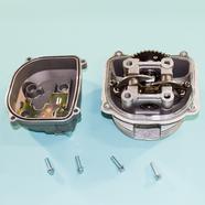 Головка скутер 125 куб. (52.4 мм., корпус, клапана, распредвал, коромысла, крышка) 152QMI