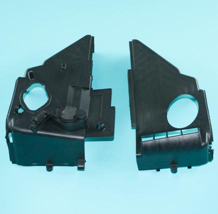 Кожухи охлаждения двигателя скутер 125-150 куб.см. (верхний и нижний, 152QMI, 157QMJ)