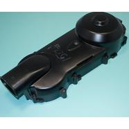 Крышка вариатора скутер 125-150 куб.см. (черная, голая, 410 мм. на 9 болтов) 152QMI / 157QMJ
