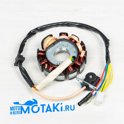 Зажигание скутер 150-200 куб. (статор генератора 161QMK, 11 катушек) ЖЖЖКрЧЗСиБ
