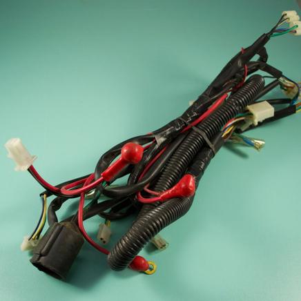 Проводка скутер 4х т. QT-4A (жгут главный)