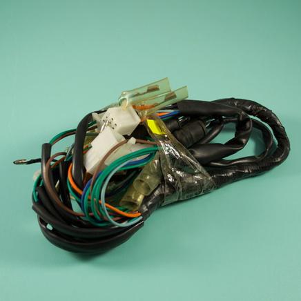 Проводка скутер 4х т. QT-4A (жгут малый)
