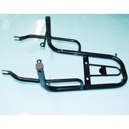 Багажник Альфа (задний, верх без подножек, черный)