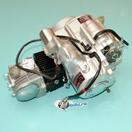 Двигатель Альфа, Гвалиор 120 куб. 4Т 152FMI (серебристый, цилиндр ЧУГУН)