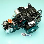 Двигатель Альфа 120 куб. 4Т 152FMI (ЧЕРНЫЙ AL цилиндр, выбито 120 куб.)