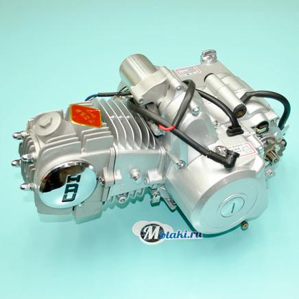 Двигатель Альфа-YX127 (серебристый, верхний стартер) 154FMI