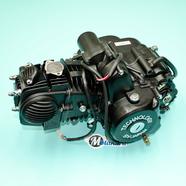 Двигатель Альфа-150, TTR150 4T 156FMJ (140 куб, 4МКПП, верхний стартер, БЕЗ радиатора) ЧЕРНЫЙ
