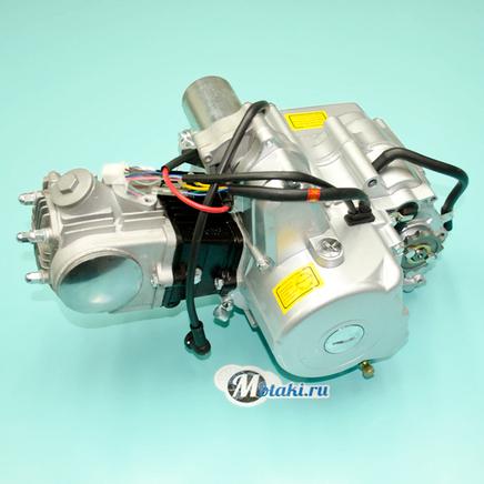 Двигатель Альфа 72 куб. 4Т 147FMD (серебристый, с карбюратором и катушкой)