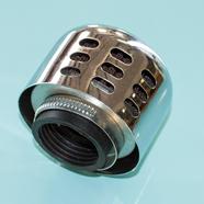 Фильтр 0 нулевого сопротивления d35 мм. Зодиак (панцирь ХРОМ 67 х 71 мм.)