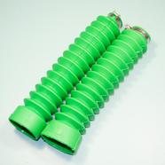 Гофра вилки Альфа (зеленые, 2 шт., длина 210 мм., d30 и d45 мм.)