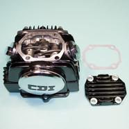 Головка TTR125, Альфа125 (52.4 мм. в сборе черная, клапана D20/23, 32Z на 3 болта) 152/153FMI