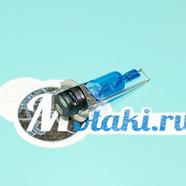 Лампа 12В 35/35W P15D-25-1 в фару Альфа, TTR125 (H6 галогеновая, БЕЛЫЙ свет)