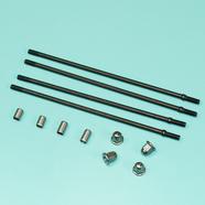 Шпильки цилиндра Альфа 100-110 куб. (4 шт., направляющие, колпачки)