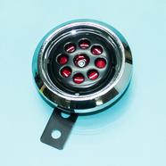 Сигнал звуковой скутер 2-4-х т., Альфа (12В, черный с хром ободком)