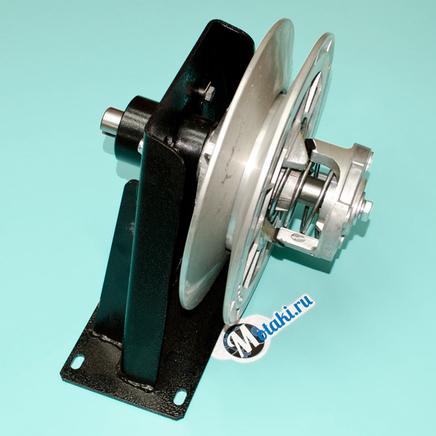 Кронштейн шкива мотобуксировщик (1 опора в сборе, вал D25 мм.)