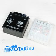 Аккумулятор 12В 5Ач (120 х 60 х 129 мм., кислотный YT5AL-BS OUTDO)