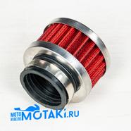 Фильтр 0 нулевого сопротивления d38 мм. TTR125, VM22, PZ27 (цилиндр h39 мм.)