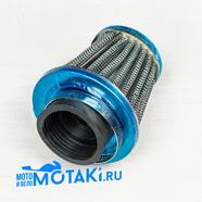 Фильтр 0 нулевого сопротивления d38-40 мм. TTR125, VM22, PZ27 (КОНУС ТИП8 высокий h68 мм.)