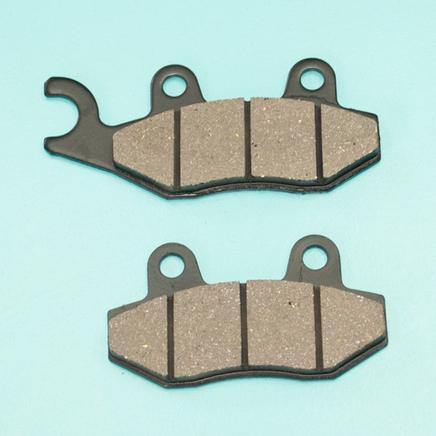 Колодки TTR250Rb, Bars, скутер 50-150 куб. (дисковый тормоз, крюк налево, YS-3010)