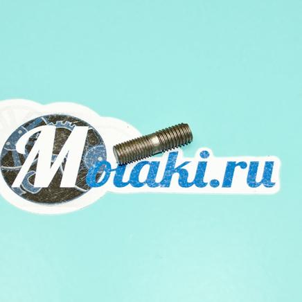 Шпилька верхнего крепления двигателя Урал, Днепр (М8 x 28 x шаг 1 / 1.25 мм.)