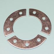 Сегменты крепления венца веломотор F50 / F80 (3 стальных прокладки)