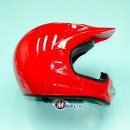 Шлем BLD819 (красный без наклеек, размер XS, НО реально 57-58, кросс)