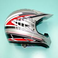 Шлем BLD819 (серебристый, размер XS, НО реально 60-61, кросс)