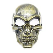 Маска-череп Ghost Rider (ТИП2, пластик, золото)