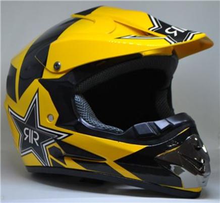 Шлем S2 CR-168 (желтый RR, размер M 57-58, кросс)