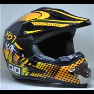 Шлем S2 CR-168 (черный GEAR, размер L 59-60, кросс)