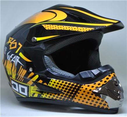 Шлем S2 CR-168 (черный GEAR, размер M 57-58, кросс)