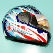 Шлем Safelead HF-110 (синий, размер M 57-58 НО реально 61-62, интеграл)
