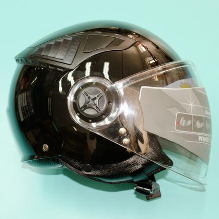 Шлем Safelead HF-256 (черный, размер S 55-56, открытый)