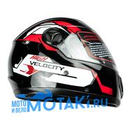 Шлем ADL151 (черно-красный, размер XS, НО реально 59-60, интеграл)