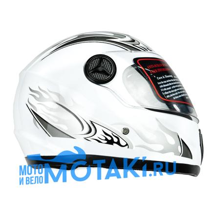 Шлем ADL151 (белый, размер XS, НО реально 59-60, интеграл)